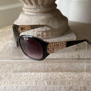 Oscar de la Renta Vintage black sunglasses